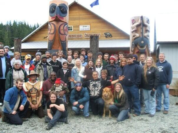 Travel Blog Photo of Alaska Canopy Crew 2008 Season