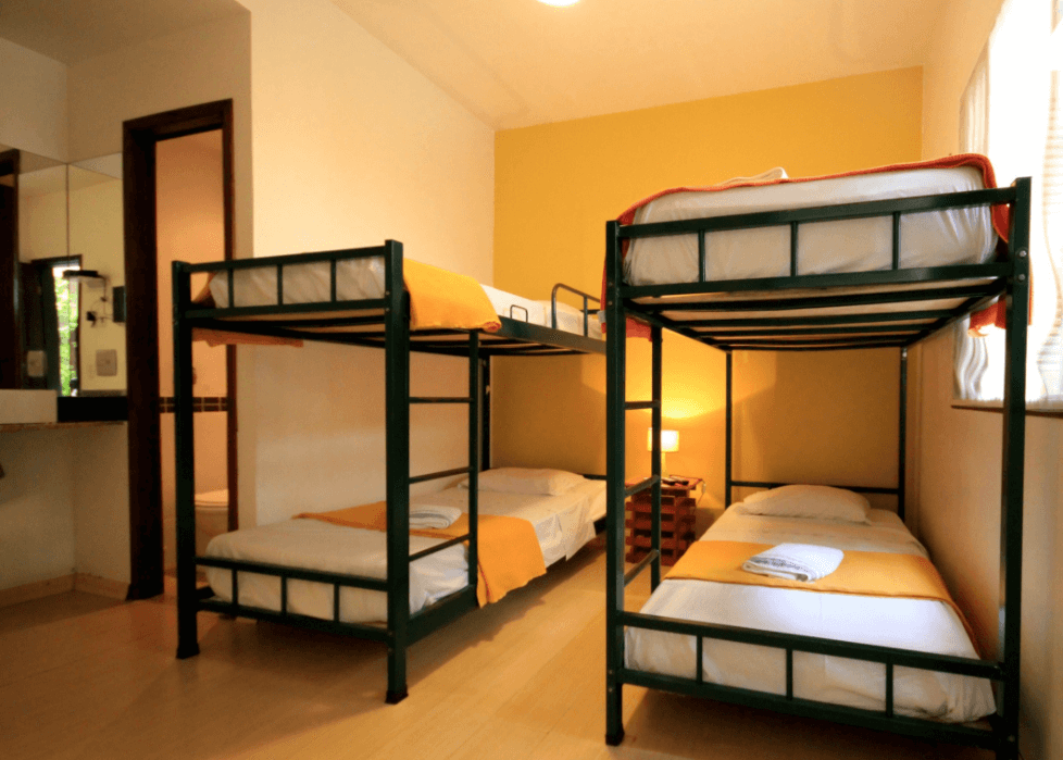 Working in a hostel may not pay for your whole trip, but it will definitely give you a break from hustle and bustle of travel by giving your a free place to stay and free food while on your big trip