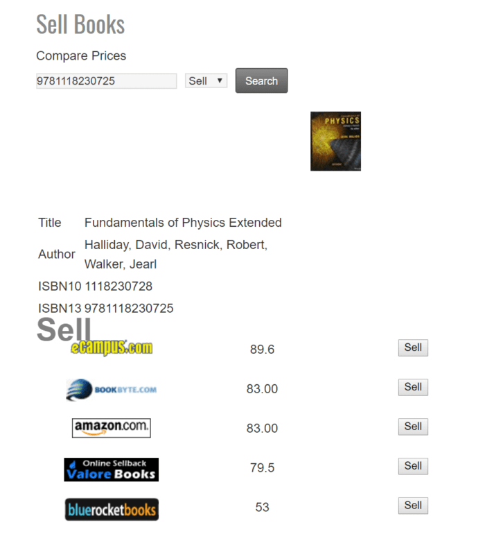 Renscouter doesn't give me as big of profit margin as bookscouter does on this particular book, but still adds over $400 to my travel budget for this one transaction