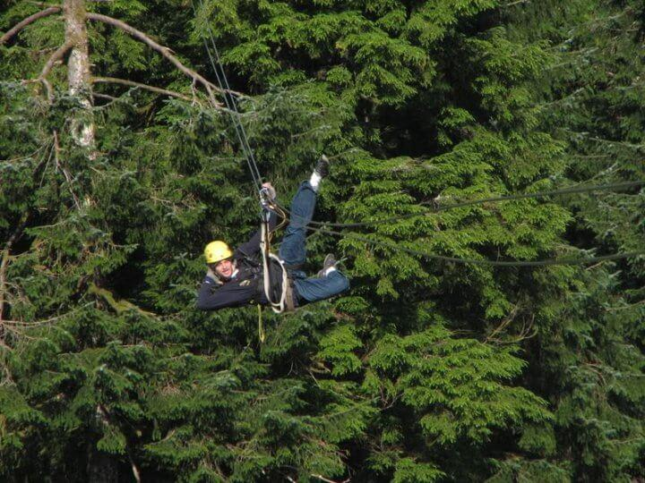 Bucket List Zipline Travel Adventures in Alaska