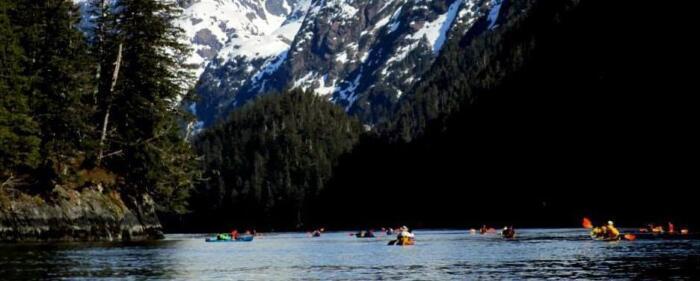 Kayaking the inside passage of Alaska travel adventures