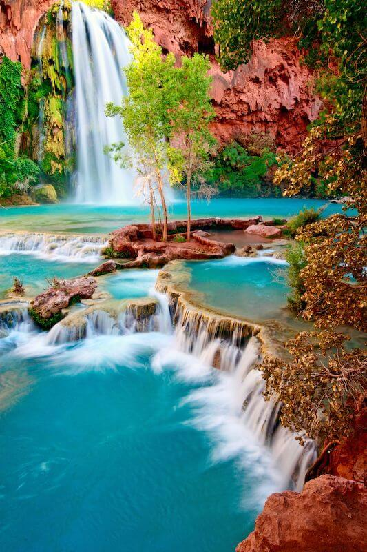 Free camping at lake havasu falls in Arizona
