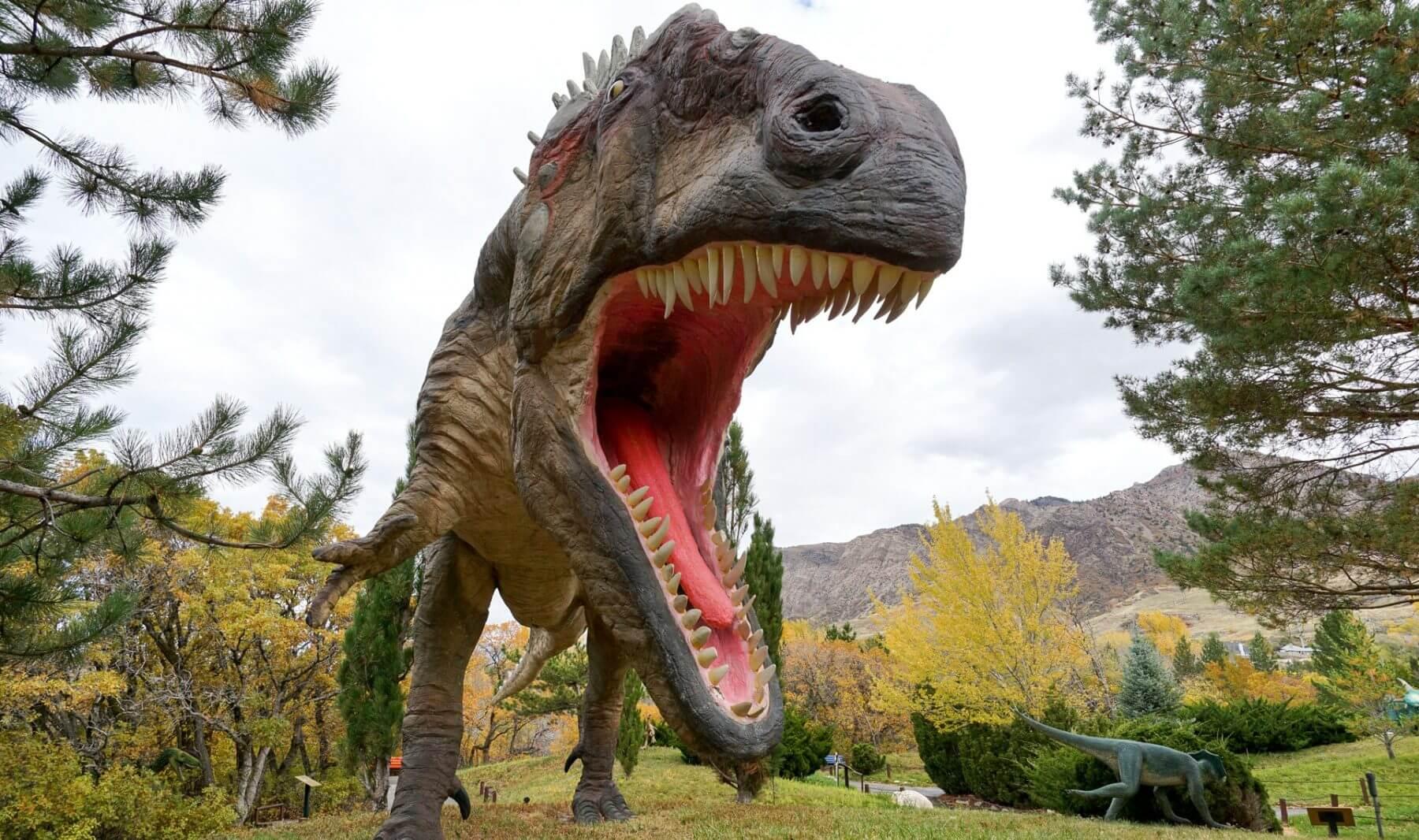 Ogden Utah Dinosaur park