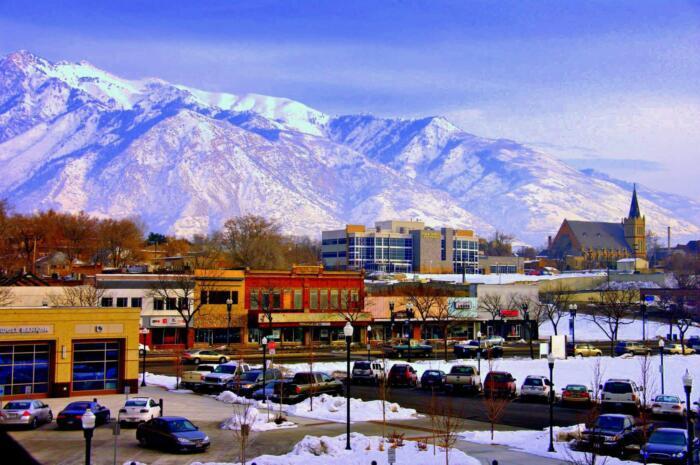 Downtown Ogden Utah