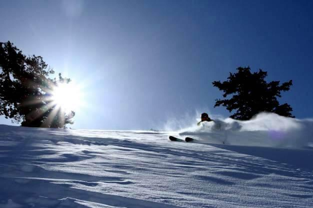 Charging Fressh Snow Ogden Utah