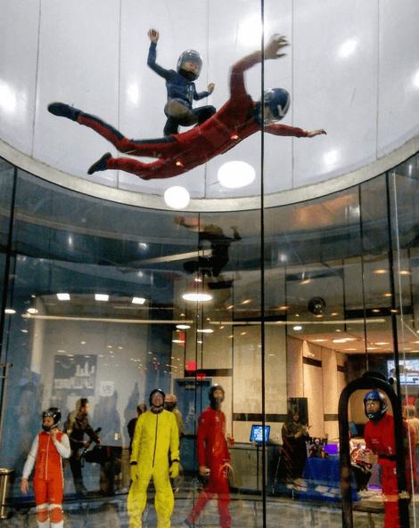 indoor sky diving ogden utah