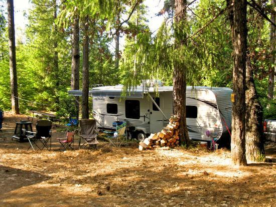 RV Camping whitefish montana