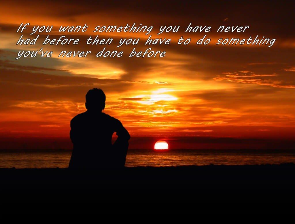 Sunset Travel Quote