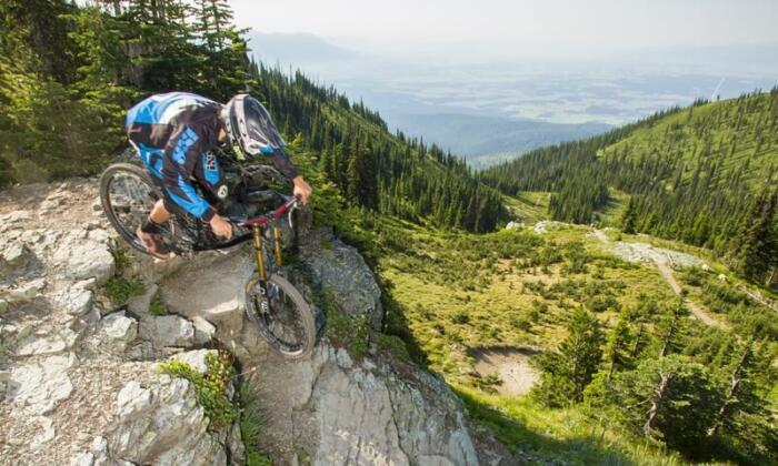 whitefish montana mountain biking