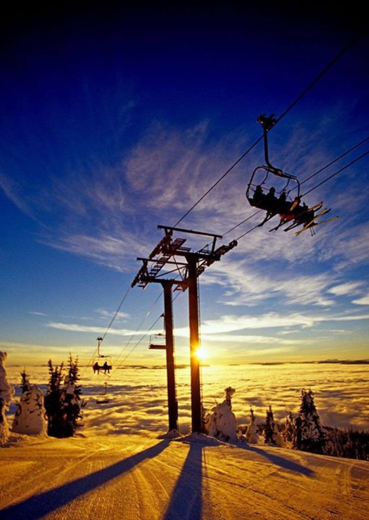 sunrise whitefish ski resort montana