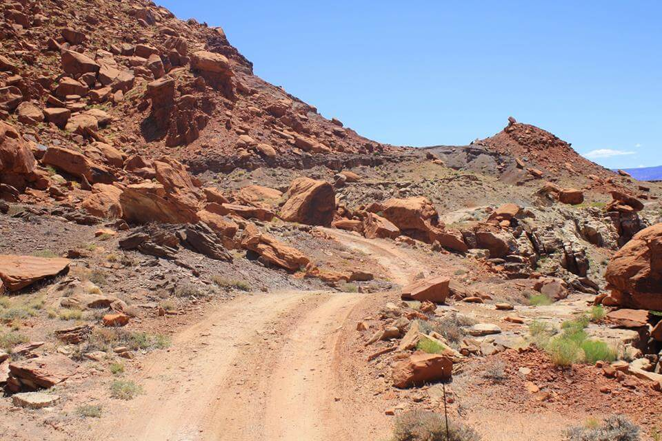 The Terrible road to Happy Canyon to fulfill our summertime Adventure Travels