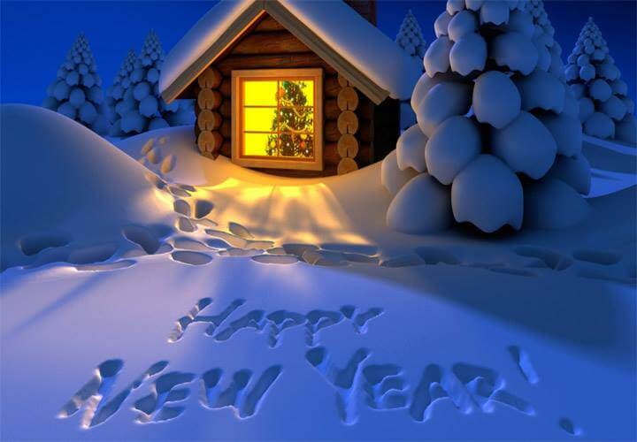 HAPPY NEW YEAR TRAVELERS