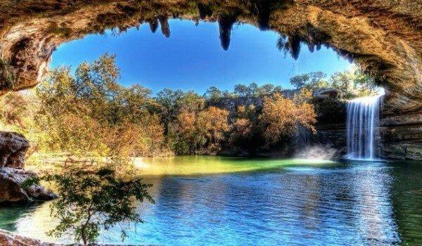 Looking for a summertime adventure destination in Texas check out Hamilton Pool Reserve