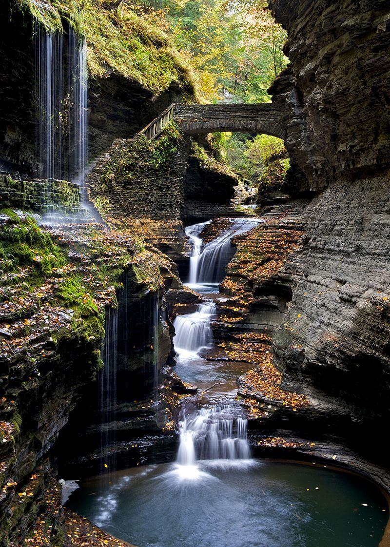 In upstate New York sits a secret summertime adventure destination called Watkins Glen State Park
