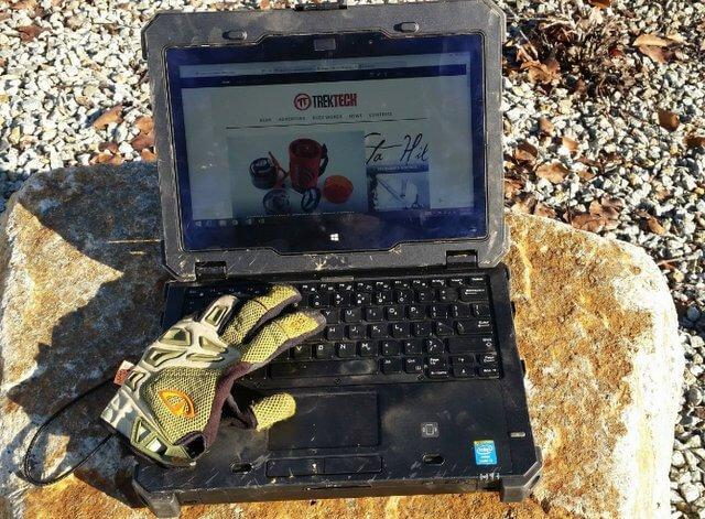 Used To My New Rugged Laptop