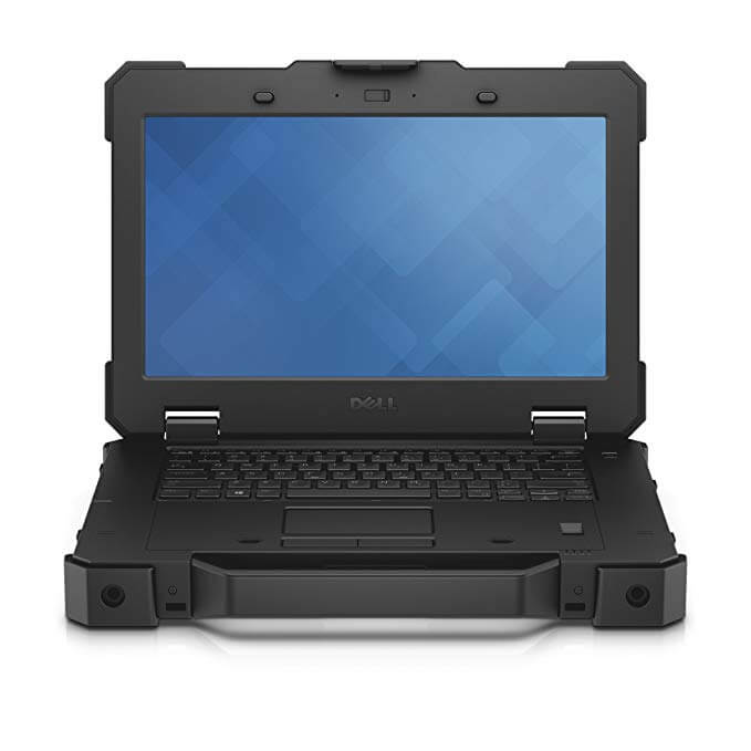 Dell's pioneer of its rugged laptop models it the Dell Latitude Rugged Laptop. This rugged laptop meets all modern day military standards making it water proof, crushproof. Able to withstand vibrations and extreme temperature changes. With its I7 and 8GB of Ram with a solid state hard drive this and touchscreen this computer has plenty of power and only weighs 4 pounds. Very versatile and powerful rugged laptop.