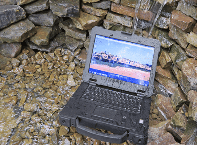 I want a waterproof laptop that can handle the day to day of life. A rugged laptop that can fall off the counter, or throw in a locker and not brake. I want to be able to take it hiking with me along the Appalachian Trail or Pacific Crest Trail and not worry about how I am going to keep it out of the rain. I want a life proof laptop. A rugged laptop that is waterproof, crush proof, drop proof and powerful.