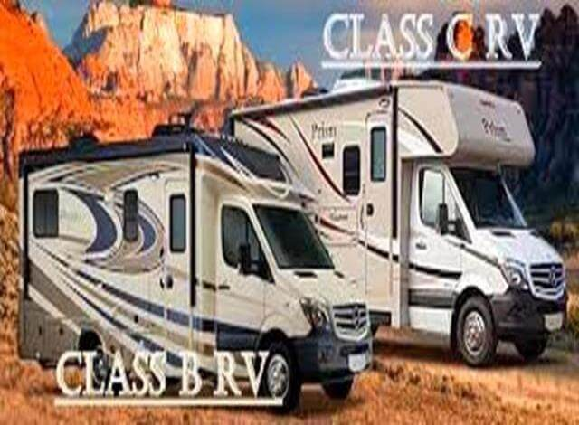 When buying an RV there are 7 main types of RV to choose from. The Class A RV, Class B RV, Class C RV, Fifth Wheel RV, Travel Trailer RV, Pop up camper RV and Slide in truck camper RV. The two most popular RVs are the Class C & Class B RVs because of their size, mobility, functionality & storage. The main difference between these two RVs is the Class C RV will have a sleeping area directly over the drivers bed while the Class B RV will not. My favorite motorhome is a 20 foot Class B RV with a living room slide and solar power capabilities. Which is what I'll be looking at when buying an RV next time.