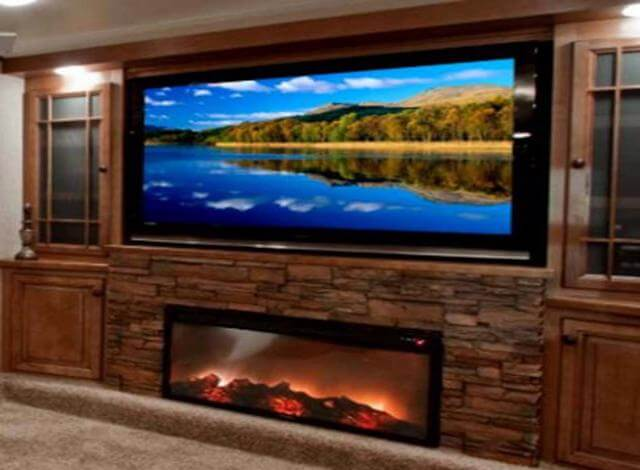 Before buying an RV you need to consider the options you want in your new RV. RV come with fireplaces, flatscreen TVs, outdoor speakers and so much more. When buying an RV my checklist is: tankless water heater, solar power, 50inch flat screen tv, fire place, stand up shower, 3 burner gas stove, high water pressure, lots of storage, fuel efficient queen size bed, wardrobe closet, guest beds, dishwasher, washer/dryer combo, bathroom, slide out & hardwood flooring. That would be my dream checklist when buying an RV.