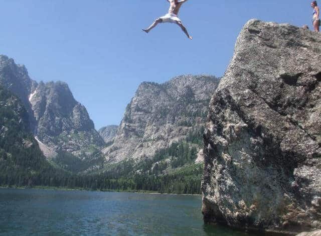 After buying an RV - I (aowanders) was jumping off cliff from the excitement I found with my new RV around Jenny lake in Grand Teton National Park. Buying an RV will literally change your life for the better. Buy a cheap rv and explore cheap rv living with maximum freedom and adventures.