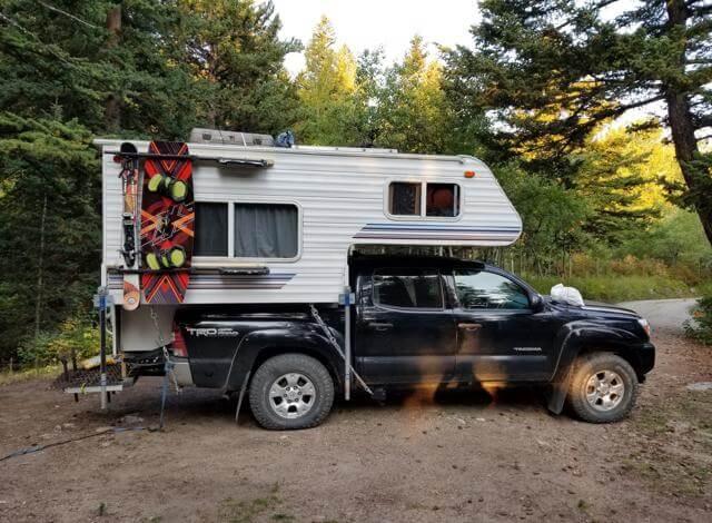 Under 50 Frame Mounted Truck Camper Tie Downs Aowanders