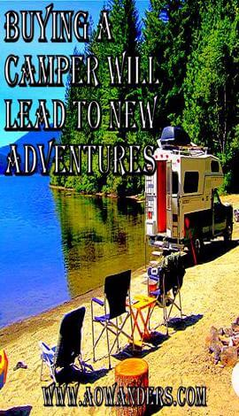 Waterfront camping is so much easier after buying a camper. In the land of 10,000 lakes every dirt road leads to a tropical paradise eventually. With my new truck camper adventure awaits around every corner. Check out my camper buying guide if you have any questions about buying a camper. www.aowanders.com