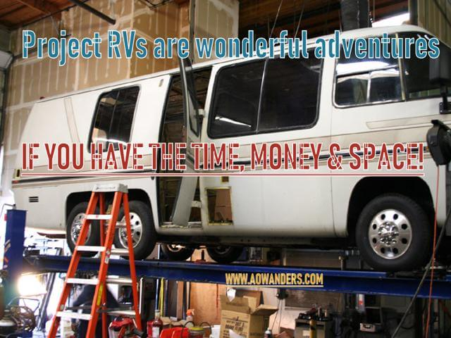 Most RV mistakes come from buying a project RV. Which is exactly what I did when i bought my first RV. I thought I could repair it easily and cheaply. The biggest camper mistake I made was underestimating the repairs, time and skills needed to bring my RV camper back to life. When buying project RV you need the proper space, skills, tools and money to do it right. Otherwise it just ends up being an RV nightmare you can't get rid of fast enough.