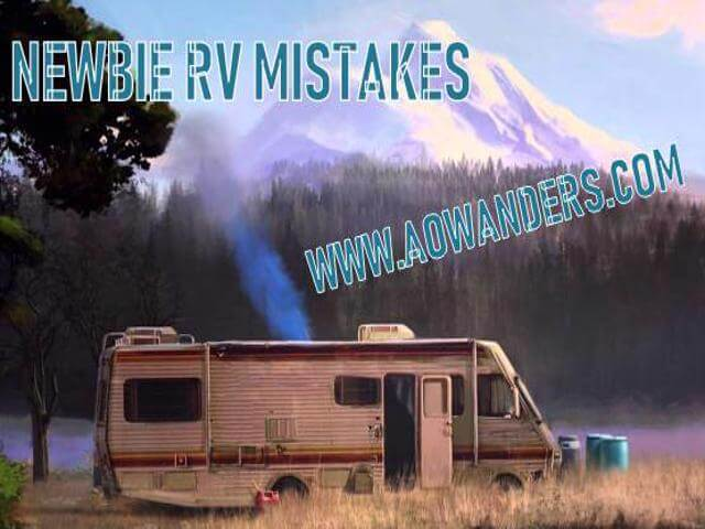 RV Mistakes are embarrassing, costly and annoying. Being a newbie RV owner is stressful enough. Making RV mistakes is just frustrating. Here are 34 common RV mistakes, tips and lessons. So you can enjoy RV life easier and stress free. www.aowanders.com