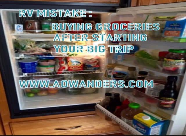 Driving an RV with your fridge running on propane is a dangerous RV mistake. This leads to burner blowout and propane leaks. Don't drive your RV with it running on propane.