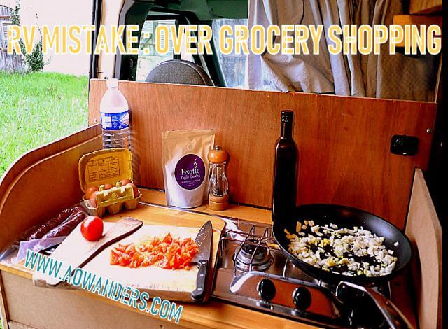 Camping meals should be easy, simple and efficient. The more complex you make them the less your going to like about RVing. Avoid this rookie RV mistake. Or follow the K.I.S.S. symbol. Keep it simple stupid.