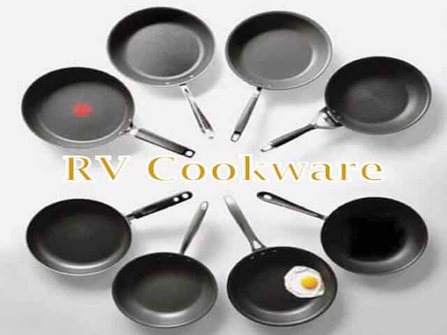 When buying camper kitchen supplies buy RV cookware that makes your life easier. Buy the best nonstick pan you can find. Purchase disposable plates, cups and silverware so you don't have to watch them later. Buy groceries that only need one pan to make a meal. The more dishes you use the more chores you will have later on. RV cookware is supposed to make your life easier. www.aowanders.com
