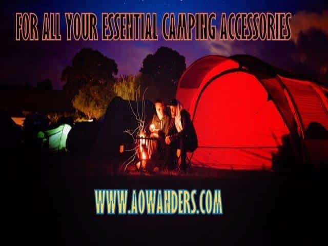 From camping supplies to RV must haves this camping accessory guide will cover all the fun rv accessories. From tents and hammocks to RV kitchen supplies and even camper cleaning supplies. Don't take your first rv trip without reading this camper accessory guide post www.aowanders.com