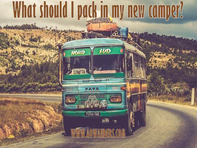 If you are a new camper owner let me help you figure out what to pack in your new travel trailer. From essential RV accessories to basic camping supplies & travel trailer must haves