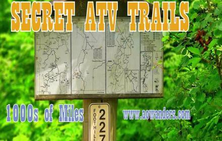 Spider Lake Trails offers thousands of miles of ATV adventure fun. Connecting up with the SOO line and Heartland State Trail ATVers have plenty to explore, and even more free campsites to choose from.
