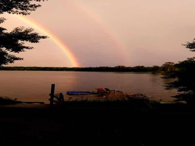 No family vacation is complete with a double rainbow good bye from mother nature.