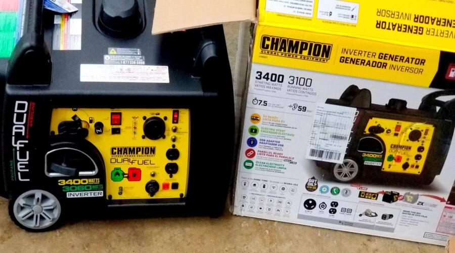 Best onboard generator for travel trailer for less than $200