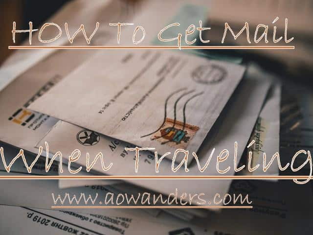 How to get mail when traveling in an RV? I answer this question and so many more in this RV mail service guide.