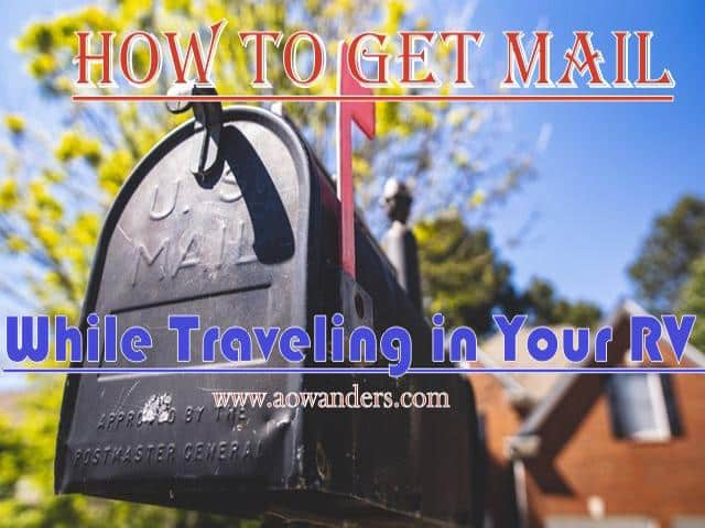 The challenges of using a permanent address while full time RVing can be complicated. Which is why I created this RV mail service guide. Where you will find out how to deliver mail directly to your camper, post office and even which mail scanning service to sign up for.