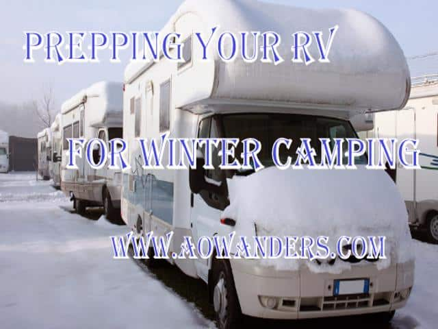 Winter camping preparation tips and how to unthaw frozen RV door locks