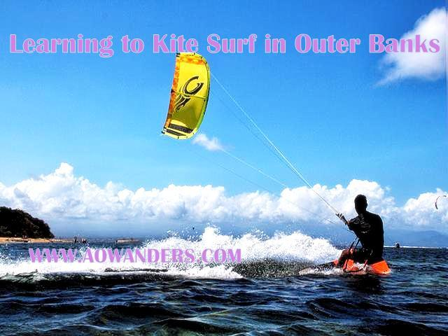 Best outdoor activity to do when you're bored is kite surfing!