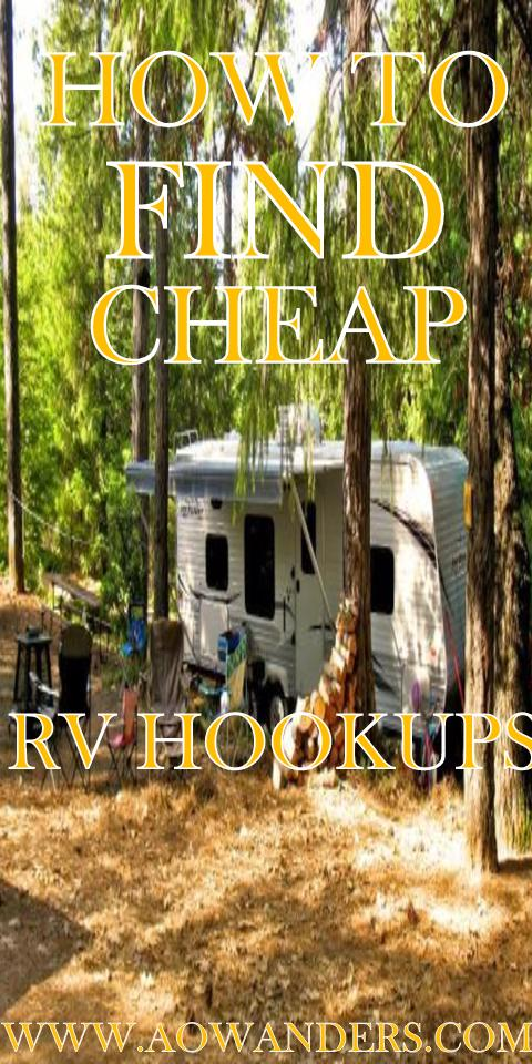 AOWANDERS step by step guide to locating cheap rv hookups and longterm rv lots for rent