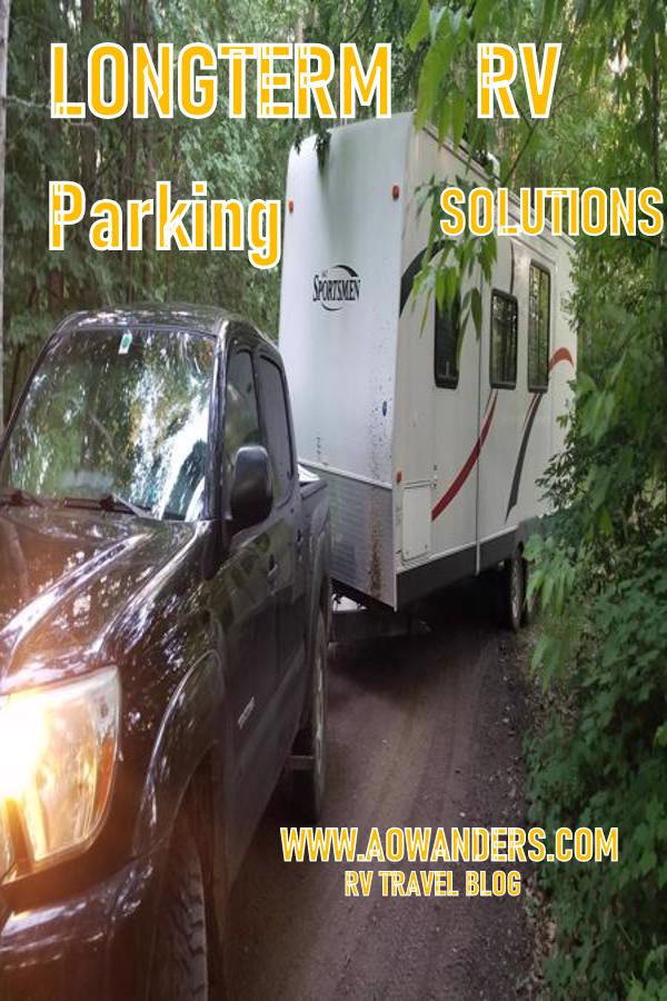 Where can I park my RV to live is often followed by can I afford longterm RV parking options