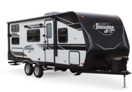 Grand Design Image is a 17 foot small towable travel trailer with a full kitchen, bedroom and bathroom floorplan. That includes high end camper amenities and accessories.