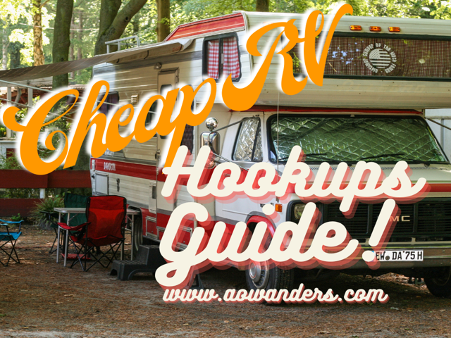 The most transparent guide to lowering your RV travel budget on the internet.  Use this cheap RV hookups guide to travel America for less than $25 a day