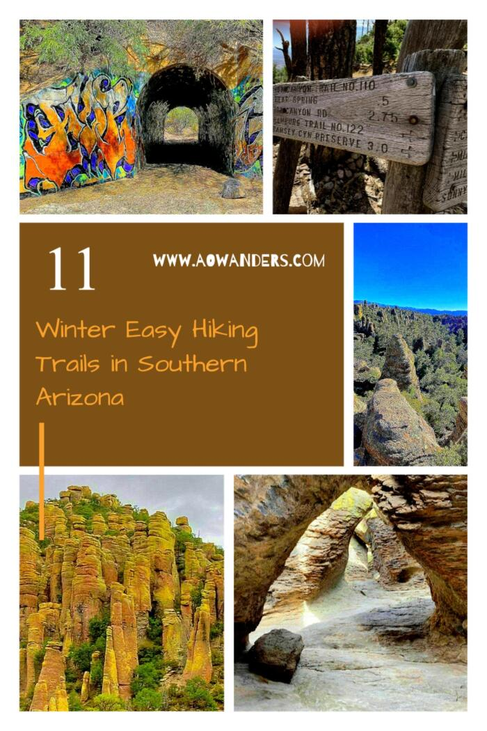 One of the easiest hikes in southern Arizona is the Silver Spur to Faraway Ranch trail.