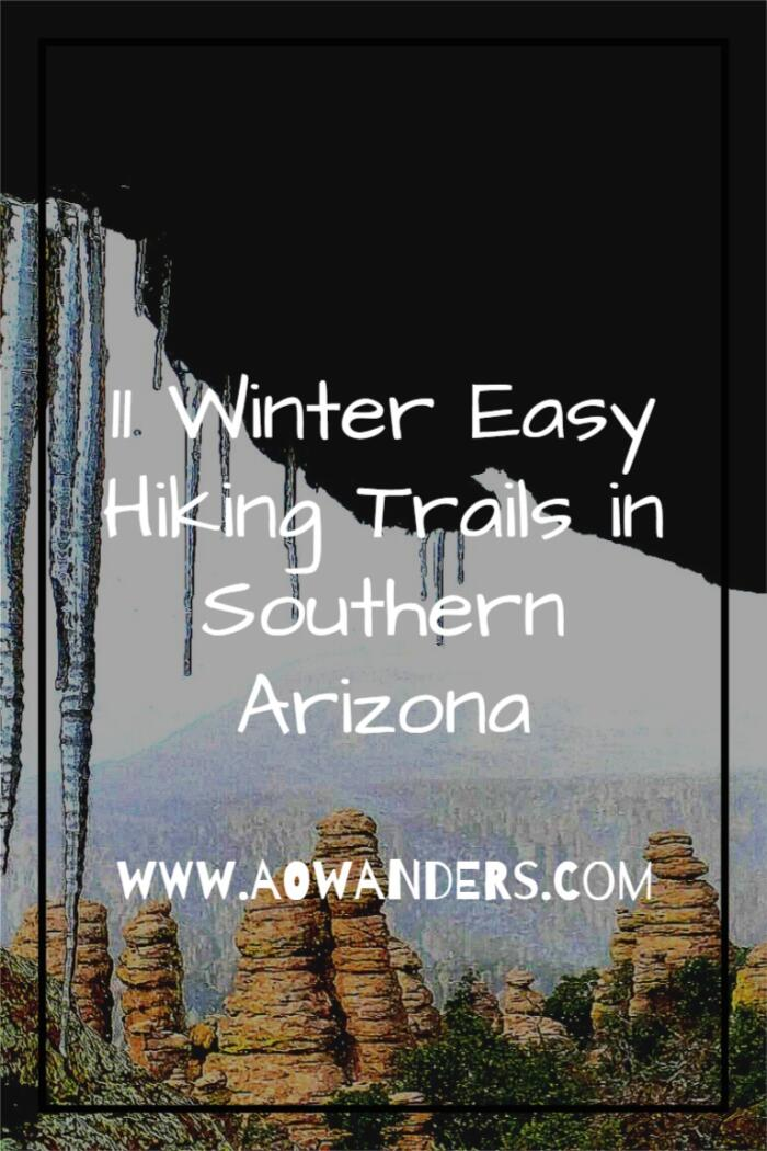 11 of my favorite winter hiking paths for beginners in Southern Arizona