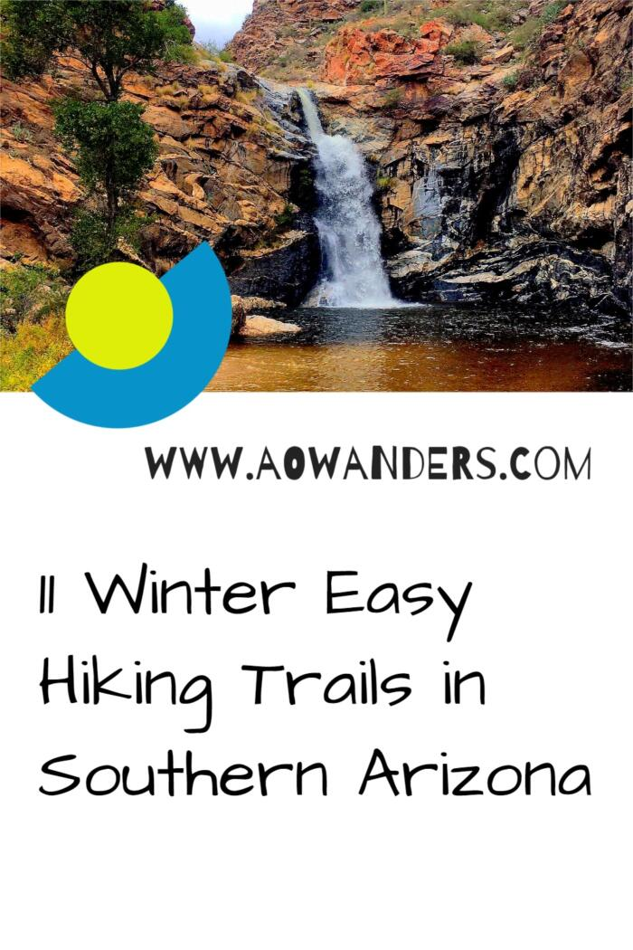 Tanque Verde Falls and swimming pool hiking trail. The best hike in southern Arizona