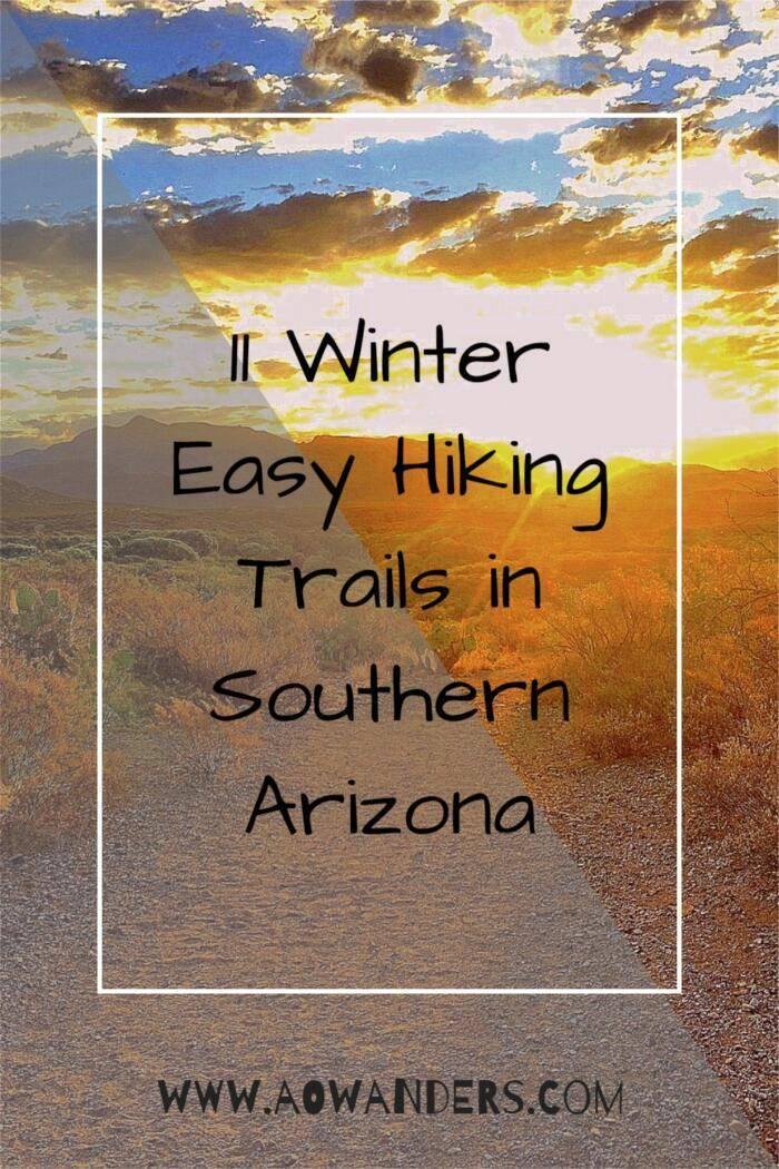 Hiking trails of southern Arizona