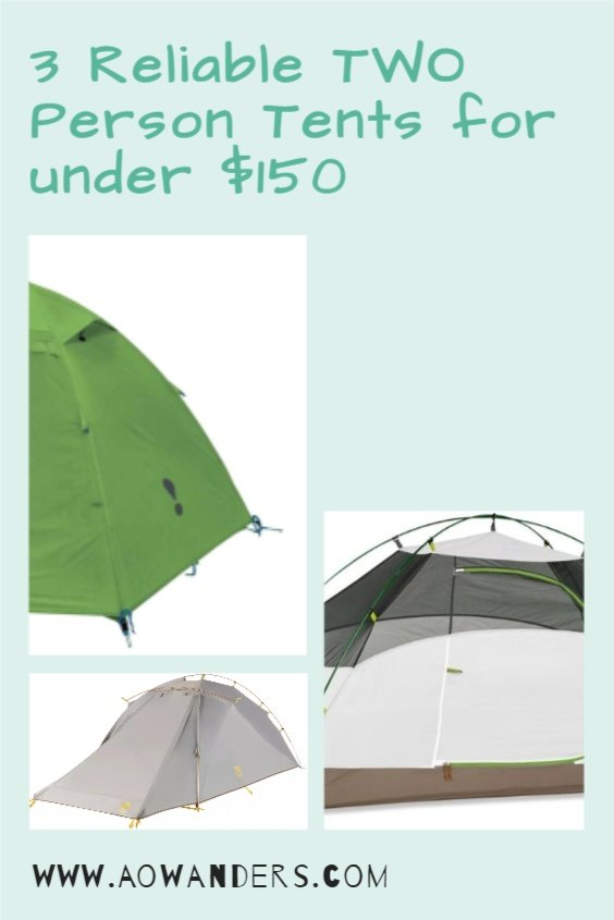 My choice of reliable two person tents for under $150 from amazon