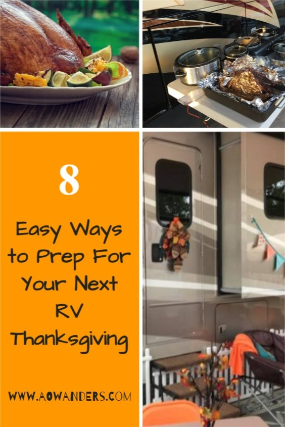 Helpful guide to planning and prepping for your next RV Thanksgiving feast.